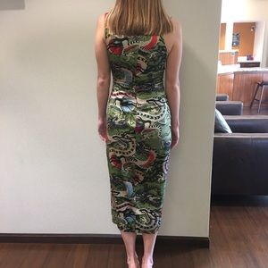 Nicole Miller Dragon Dress